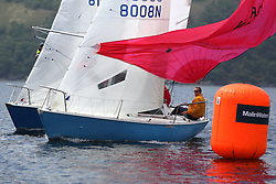 The Silvers Marine Scottish Series 2014, organised by the  Clyde Cruising Club,  celebrates it's 40th anniversary.<br /> <br /> Sonata, GBR8008N, Mostly Harmless, Mark Bradshaw, Cove SC<br /> Final day racing on Loch Fyne from 23rd-26th May 2014<br /> <br /> Credit : Marc Turner / PFM