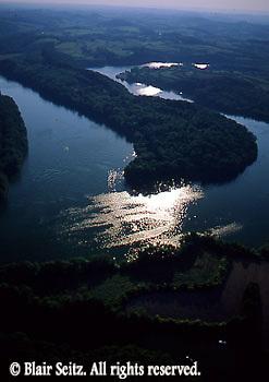aerials, Berks Co. PA aerial photos, Blue Marsh Lake Aerial Photograph Pennsylvania Blue Marsh Lake, Berks Co., PA
