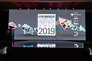 Agency of the Year Awards at Ritz-Carlton Millenia, Singapore, Singapore, on 12 December 2019. Photo by Steven Lui/Clique Visuals