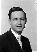 1962 - Mr Patrick Dowling, Research Scholarship winner