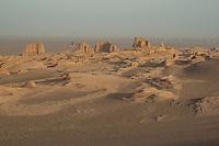 Yardangs at Kaluts, Dasht-e Lut Desert, Iran