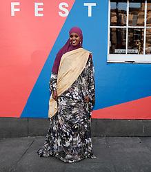 Edinburgh International Film Festival 2019<br /> <br /> A Girl From Mogadishu (International Premiere)<br /> <br /> Pictured: Ifrah Ahmed<br /> <br /> Aimee Todd   Edinburgh Elite media