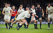 Twickenham, United Kingdom.   Jonny MAY, full flow, during the RBS. Six Nations : England   vs France  at the  RFU Stadium, Twickenham, England, <br /> <br /> Saturday  04/02/2017<br /> <br /> [Mandatory Credit; Peter Spurrier/Intersport-images]