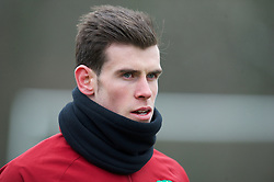 CARDIFF, WALES - Sunday, March 24, 2013: Wales' Gareth Bale during a training session at the Vale of Glamorgan ahead of the 2014 FIFA World Cup Brazil Qualifying Group A match against Croatia. (Pic by David Rawcliffe/Propaganda)  CARDIFF, WALES - Sunday, March 24, 2013: Wales' xxxx during a training session at the Vale of Glamorgan ahead of the 2014 FIFA World Cup Brazil Qualifying Group A match against Croatia. (Pic by David Rawcliffe/Propaganda)