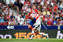 August 25, 2018 - Griezmann of Atletico de Madrid during the spanish league, La Liga, football match between Atletico de Madrid and Rayo Vallecano on August 25, 2018 at Wanda Metropolitano stadium in Madrid, Spain. (Credit Image: © AFP7 via ZUMA Wire)