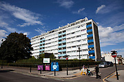 Tower block in East London. Housing is a huge issue in London, in particular in Tower Hamlets, the most populated borough in the whole country. The borough has a population of 220,000, which includes one of the highest ethnic minority populations in the capital.
