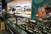 Sidney Fish Market, Australia.