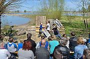 Nederland, Nijmegen, 19-4-2015Theastergroep Azijn speelt theater aan de WaalFOTO: FLIP FRANSSEN/ HOLLANDSE HOOGTE