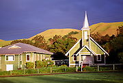 Church, Waimea, Kamuela, Island of Hawaii