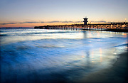 Seal Beach Pier at Dusk