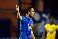 Jordan Keane. Stockport County FC 0-2 Sutton United FC. Vanarama National League. Edgeley Park. 2.2.21
