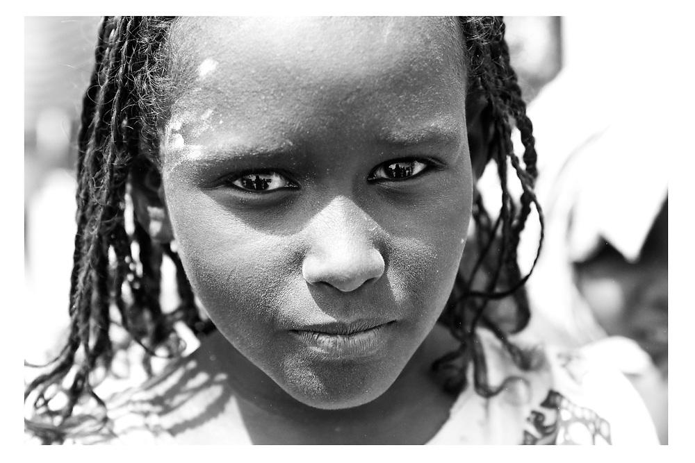 Young Afar girl in Asaiyta Refugee Camp, Afar, Ethiopia 2016