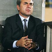 Fenerbahce's head coach Aykut Kocaman during their Turkish superleague soccer match S.B. Elazigspor between Fenerbahce at the Ataturk stadium in izmir Turkey on Saturday 18 August 2012. Photo by TURKPIX