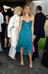 VIVIA FERRAGAMO a member of the Ferragamo fashion empire at the annual Serpentine Gallery Summer Party co-hosted by Jimmy Choo shoes held at the Serpentine Gallery, Kensington Gardens, London on 30th June 2005.<br /><br />NON EXCLUSIVE - WORLD RIGHTS