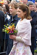 De koninklijke familie is in Zwolle voor de viering van Koningsdag. /// The royal family is in Zwolle for the celebration of King's Day.<br /> <br /> Op de foto / On the photo:  Prins Floris en Prinses Aimee