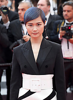 Singer Li Yuchun at the Yomeddine gala screening at the 71st Cannes Film Festival, Wednesday 9th May 2018, Cannes, France. Photo credit: Doreen Kennedy