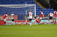 GOAL 1-1 Bolton Wanderers forward Eóin Doyle (9)scores to make it 1-1   during the EFL Sky Bet League 2 match between Bolton Wanderers and Cheltenham Town at the University of  Bolton Stadium, Bolton, England on 16 January 2021.