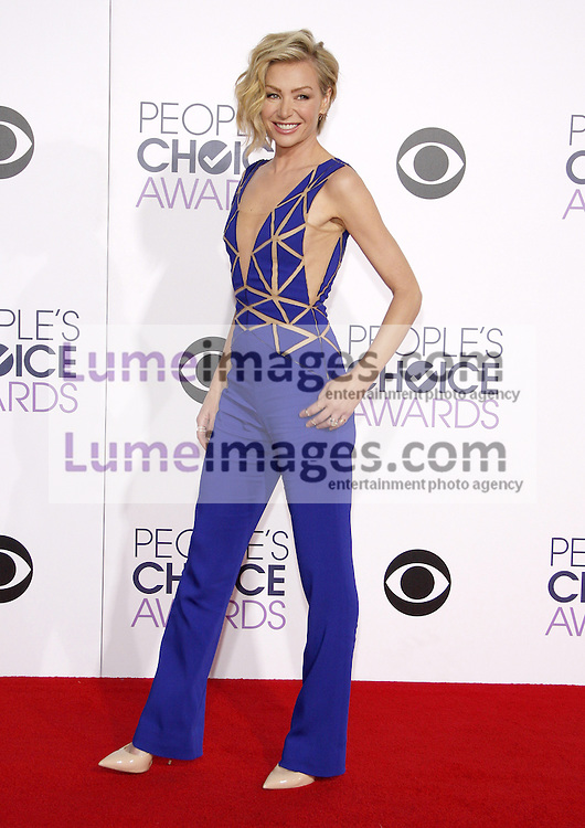 Portia de Rossi at the 41st Annual People's Choice Awards held at the Nokia L.A. Live Theatre in Los Angeles on January 7, 2015. Credit: Lumeimages.com