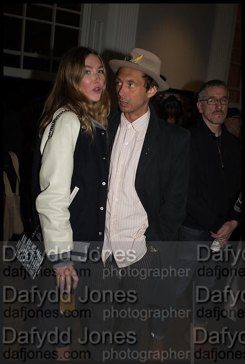 DAISY BOYD; DAN MACMILLAN, Private view, Paul Simonon- Wot no Bike, ICA Nash and Brandon Rooms, London. 20 January 2015