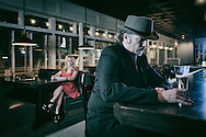 American Dreamscapes /   Lonely Hearts<br /> <br /> The Drake bar, Bend, Oregon, USA, 2014