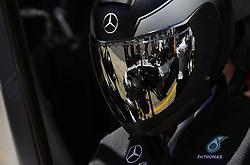May 13, 2018 - Barcelona, Spain - Motorsports: FIA Formula One World Championship 2018, Grand Prix of Spain, ..Mechanic of Mercedes AMG Petronas Motorsport  (Credit Image: © Hoch Zwei via ZUMA Wire)