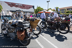 Hosted Cannonball lunch stop at Temecula Harley-Davidson on the last day of the Motorcycle Cannonball Race of the Century. Stage-15 ride from Palm Desert, CA to Carlsbad, CA. USA. Sunday September 25, 2016. Photography ©2016 Michael Lichter.