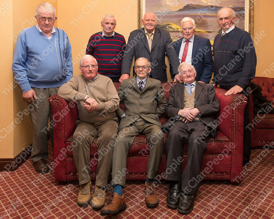 Francis Sampson, Hubert Roche Kelly, Sean Keating, Gerard Hannon, Conor O'Brien, John Slattery, John O'Connor and Michael O'Doherty all who marched or went to jail during negotiating  the rights for farmers