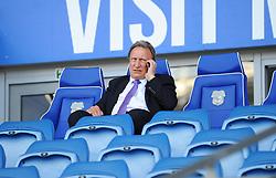 Cardiff City manager Neil Warnock prior to kick-off- Mandatory by-line: Nizaam Jones/JMP - 21/04/2019 -  FOOTBALL - Cardiff City Stadium - Cardiff, Wales -  Cardiff City v Liverpool - Premier League