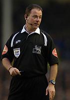 Photo: Paul Greenwood.<br />Everton v Blackburn Rovers. The Barclays Premiership. 10/02/2007. Match Referee Mr Rob Styles