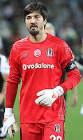 Turkey superlig match between Atiker Konyaspor and Besiktas at Torku Arena in Konya , Turkey on August 26, 2016.<br /> Final Score : Konyaspor 2 - Besiktas 2 <br /> Pictured:  Goalkeeper Tolga Zengin of Besiktas.