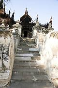 Myanmar, Mandalay, Golden Palace Monastery,
