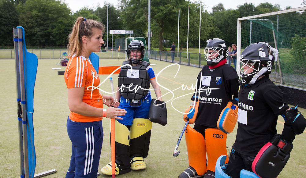 HILVERSUM - Hockey - Josine Koning. VOLVO JONG ORANJE WORKSHOPS . COPYRIGHT KOEN SUYK