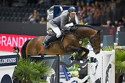Beerbaum Ludger (GER) - Chaman<br /> Longines FEI World Cup™ Jumping Final 2013/2014<br /> Lyon 2014<br /> © Dirk Caremans