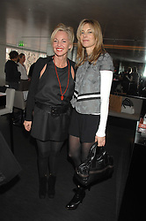Left to right, AMANDA ELIASCH and KIM HERSOV at a lunch to celebrate the launch of the Top Tips for Girls website (toptips.com) founded by Kate Reardon held at Armani, Brompton Road, London on 5th March 2007.<br /><br />NON EXCLUSIVE - WORLD RIGHTS