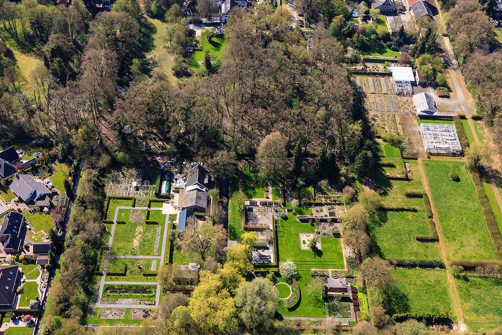 Nederland, Overijssel, Dedemsvaart, 01-05-2013; De Tuinen van Mien Ruys, Nederlands tuinarchitect.<br /> Mien Ruys Gardens.<br /> luchtfoto (toeslag op standard tarieven);<br /> aerial photo (additional fee required);<br /> copyright foto/photo Siebe Swart