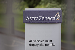 © Licensed to London News Pictures . 08/05/2014 . Macclesfield , UK . GV of the AstraZeneca Pharmaceutical and Biologics facility in Macclesfield , UK today (Thursday 8th May 2014) . American drugs company Pfizer has said it may pull out of its £63 billion bid to buy British firm AstraZeneca if it does not have the support of the UK government in its bid . Photo credit : Joel Goodman/LNP