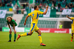 Ivan Firer of NK Domzale during 2nd leg match of 1st Round Qualifications for European League between FC Flora and NK Domzale, on July 7, 2017 on Le Coq Arena, Tallinn, Estonia. Photo by Ziga Zupan / Sportida