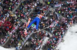 05.02.2017, Heini Klopfer Skiflugschanze, Oberstdorf, GER, FIS Weltcup Ski Sprung, Oberstdorf, Skifliegen, im Bild Pius Paschke (GER) // Pius Paschke of Germany during mens FIS Ski Flying World Cup at the Heini Klopfer Skiflugschanze in Oberstdorf, Germany on 2017/02/05. EXPA Pictures © 2017, PhotoCredit: EXPA/ Peter Rinderer