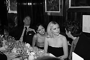 Charles Finch, Thandie Newton and Sophie Dahl,  Charles Finch and Chanel 7th Anniversary Pre-Bafta party to celebratew A Great Year of Film and Fashiont at Annabel's. Berkeley Sq. London W1. 10 February 2007. -DO NOT ARCHIVE-© Copyright Photograph by Dafydd Jones. 248 Clapham Rd. London SW9 0PZ. Tel 0207 820 0771. www.dafjones.com.