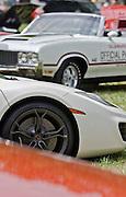 McLarenMP4-12c and Oldsmobile 442,Keeneland Concourse D'Elegance,Lexington,Ky.