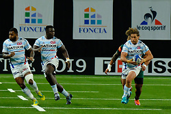 December 9, 2018 - Nanterre, Hauts de Seine, France - Racing 92 Hooker DIMITRI SZARZEWSKI in action during the rugby Champions Cup Day 3 between Racing 92 and Leicester at U Arena Stadium in Nanterre - France..Racing 92 Won 36-26. (Credit Image: © Pierre Stevenin/ZUMA Wire)