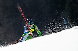 MAROVT Tijan of Slovenia during the Audi FIS Alpine Ski World Cup Men's Slalom 58th Vitranc Cup 2019 on March 10, 2019 in Podkoren, Kranjska Gora, Slovenia. Photo by Matic Ritonja / Sportida