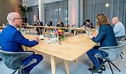 ROTTERDAM, 19-5-2021<br /> <br /> Koningin Maxima bezoekt regio Rotterdam-Rijnmond over ontwikkelingen op de arbeidsmarkt. Het bezoek staat in het teken van de samenwerking in de regio om werknemers die hun baan verliezen snel weer aan werk te kunnen helpen en om werkgevers met een tijdelijk tekort aan personeel te koppelen aan bedrijven waar onvoldoende werk is. FOTO: Brunopress/POOL/Patrick van Emst<br /> <br /> Queen Maxima visits the Rotterdam-Rijnmond region about developments in the labor market. The theme of the visit is the cooperation in the region to help employees who lose their job back to work quickly and to link employers with a temporary shortage of staff to companies where there is insufficient work.