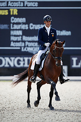 Acosta Ponce Juan Manuel, ESP, Columbus Tr<br /> Longines FEI/WBFSH World Breeding Dressage Championships for Young Horses - Ermelo 2017<br /> © Hippo Foto - Dirk Caremans<br /> 04/08/2017