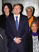 Uitreiking van de Prins Claus Prijs 2014 n het Koninklijk Paleis in Amsterdam.<br /> <br /> Presentation of the Prince Claus Award in 2014 n the Royal Palace in Amsterdam.<br /> <br /> op de foto / On the photo: <br />  Koning Willem-Alexander / King Willem-Alexander