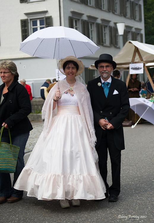 Biedermeier festival in Heiden, Switzerland in Septembet 2010