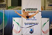 Beatrice Pilosio from Udinese team during the Italian Rhythmic Gymnastics Championship in Padova, 25 November 2017.