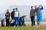 Ben Best (Rathmore) on the 12th tee during Round 4 of The West of Ireland Open Championship in Co. Sligo Golf Club, Rosses Point, Sligo on Sunday 7th April 2019.<br /> Picture:  Thos Caffrey / www.golffile.ie
