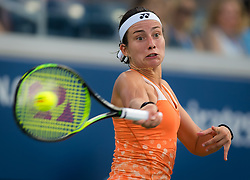 September 2, 2018 - Flushing Meadows, New York, U.S. - ANASTASIJA SEVASTOVA of Latvia in action during her fourth-round win over E. Svitolina at the 2018 US Open Grand Slam tennis tournament. (Credit Image: © AFP7 via ZUMA Wire)