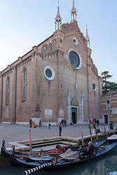 The Basilica dei Santi Giovanni e Paolo in Venice. From a series of travel photos in Italy. Photo date: Wednesday, February 13, 2019. Photo credit should read: Richard Gray/EMPICS